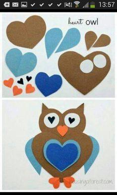 Kalplerden Baykuş