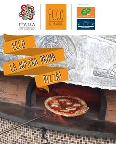 Our first pizza... #EccoPizzaePasta #Expo2015 #ExpoMilano