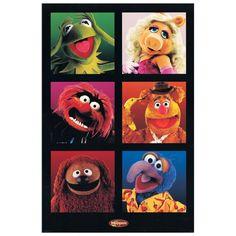 Muppets 60x90 cm #artprints #interior #design #art #print #cartoon  Scopri Descrizione e Prezzo http://www.artopweb.com/categorie/cartoni/EC18580