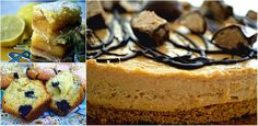 #Domenica | #LemonBars | #BlueberryMuffins | #Peanut Butter Cheesecake (#Cheesecake #BonoBon).