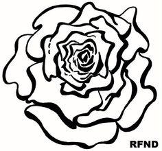 This logo symbolises the purety of Refine's supplies.