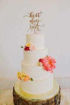 Wedding Cakes : Picture Description 'Best Day Ever': www. Miami Wedding, Our Wedding, Dream Wedding, Wedding Ideas, Wedding Trends, Wedding Table, Wedding Inspiration, Fondant Cakes, Cupcake Cakes