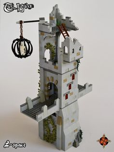 Troll Bridge-2_29 | First tower. | L-space | Flickr Lego Castle, Lego Design, Lego Architecture, Lego Stuff, Cool Lego, Lego Building, Lego Ideas, Legos, Troll