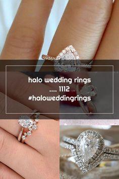 halo wedding rings .... 1112 #haloweddingrings Wedding Rings Teardrop, Halo, Diamond Earrings, Engagement Rings, Crystals, Jewelry, Enagement Rings, Wedding Rings, Jewlery