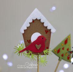 Moja papierowa kraina: Świąteczne ozdoby na piku