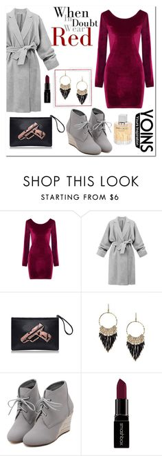 """""""Yoins Contest! Win a 3D Clutch!"""" by aldinna ❤ liked on Polyvore featuring WithChic, Smashbox, Jimmy Choo and yoins"""