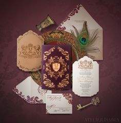 Game of Thrones Wedding Invitation inspired by House Lannister by Atelier Isabey. This is a wedding invitation to remember! Guests certainly wont throw these away! Traditional Wedding Invitations, Classic Wedding Invitations, Wedding Stationary, Wedding Invitation Format, Invitation Cards, Invite, Game Of Thrones, Wedding Paper, Wedding Cards