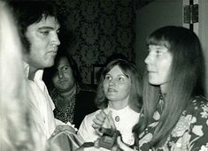 """...I looked at Elvis and he had that look in his eye when he looked at me as if to say, """"who the **** does she think she's talking to."""" Her brother sat there the 15 minutes they were there absolutely silent and it was easy to see she was the dominant of the two. Elvis then said to her,""""I'll be happy to if you ask nicely and not demand that I do it."""""""