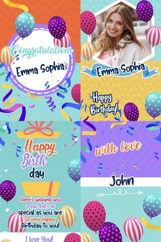 see here our Electronic Congratulations Card Happy Birthday, personalized for you. Electronic Cards, Electronic Invitations, Messages For Friends, Love Days, Very Happy Birthday, Congratulations Card, Electronics, Gifts, Funny