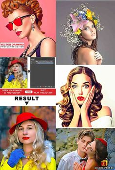 """Vector Drawing Photoshop Action 21570696 Photoshop ATN   27 Mb Want to transform a amazing effect of """"Vector Drawing Photoshop Action"""" from any photos/image with one click? This is amazing and time saving. Easy to use and Unlimited result. Work with any image. This pack includes """"Vector Drawing Photoshop Action"""" layer"""