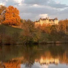 Autumn at the Biltmore  House in Asheville NC.