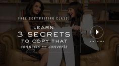 Copy Cure Freebie Class Opt In