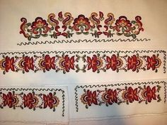 Cross Stitch Embroidery, Embroidery Patterns, Russian Folk Art, Folk Costume, Costumes, Norway, Sewing Projects, Crafts, Polish