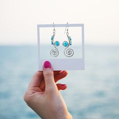 Stunning earrings handcrafted from recycled sterling silver. The Undercurrents earrings speaks of ocean currents and delicate seahorse. Cute Home Decor, Home Decor Kitchen, Cheap Home Decor, Beautiful Gifts For Her, Rustic Houses Exterior, Decor Logo, Entryway Decor, Bedroom Decor, Minimalist Home Interior