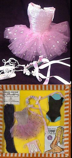 Skipper Ballet Class #1905 (1964 - 1965) - To fluff up the tutu, separate the layers of tulle.
