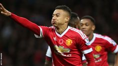 Jesse Lingard scored his first Manchester United goal as Louis van Gaal's side beat West Brom.  Winger Lingard, 22, curled home from the edge of the box early in the second half to give the hosts the lead.