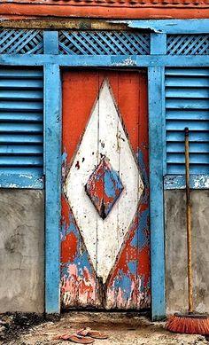 doors.quenalbertini: Door in Miches, El Seibo, Dominican Republic