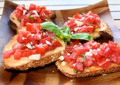 Italian Food Forever » Tomato Bruschetta