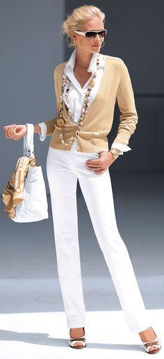 Love white pants