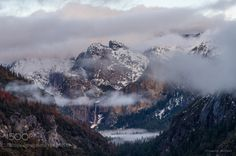 Yosemite in Winter by vineethtm 4reigndestinations.tumblr.com #Travel #Mountains