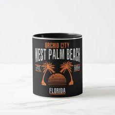 #West Palm Beach Mug - #beach #travel #beachlife
