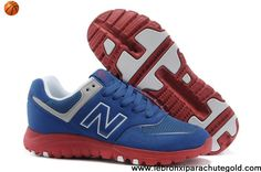 Latest Listing Cheap New Balance NB MS77BR retro For Men Running shoes royal Blue Red