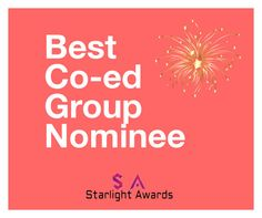 """Co-ed Group Nominees"" by starlight-awards ❤ liked on Polyvore"