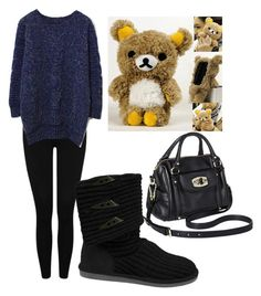 """""""Oversized Sweater"""" by alysiana on Polyvore"""