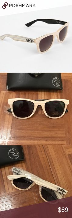 Sheep shades Indio beachwood sunglasses brand new Brand new SHEEP SHADES Indio sunglasses Beechwood, never worn and perfect condition! sheep shades Accessories Sunglasses