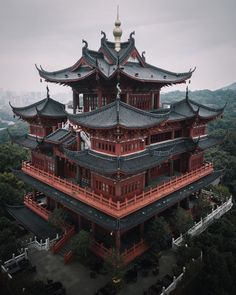 Marvelous Asian Cities By Tristan Zhou - Architecture Aesthetic Japan, City Aesthetic, Japanese Aesthetic, Travel Aesthetic, Building Aesthetic, Architecture Du Japon, Architecture Design, Gothic Architecture, Japon Illustration