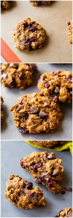 ... -Cookies on Pinterest | Oatmeal, Chocolate chip cookies and Cookies