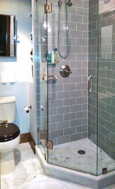 Shower Idea for Small Bathroom. 20 Shower Idea for Small Bathroom. Basement Bathroom Shower Tile Built In Shelving Tucked Very Small Bathroom, Tiny Bathrooms, Upstairs Bathrooms, Bathroom Design Small, Amazing Bathrooms, Narrow Bathroom, Bathroom Designs, Modern Bathrooms, Simple Bathroom