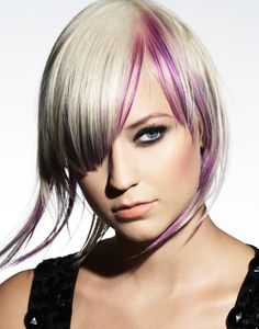 Hair by Lucie Doughty for Paul Mitchell Professional Hair Color