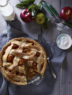 Salted Caramel Apple Pie | Williams-Sonoma Test Kitchen's 10 Favorite Recipes of 2014