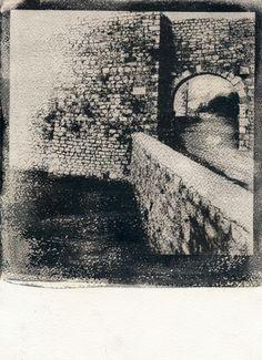 The Nin gate – gum bichromate - Lidija Ivanek SiLa