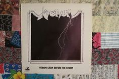 Heavy Metal band Venom - The Calm Before The Storm LP Vinyl Record sold 80s Heavy Metal, Heavy Metal Bands, Lp Vinyl, Vinyl Records, Calm Before The Storm, Venom, Punk, Metal Music Bands, Punk Rock