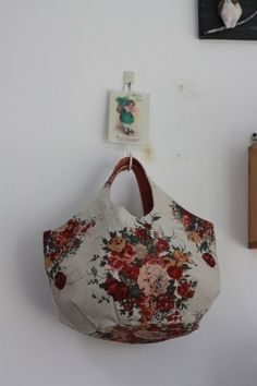로즈부케 린넨 라운드가방 : 네이버 블로그 Purse Organizer Pattern, Purse Organization, Purses, Sewing, Bags, Fashion, Satchel Handbags, Fabric Basket, Baskets