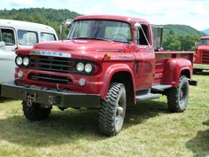 1959 Dodge Power Wagon Maintenance of old vehicles: the material for new cogs/casters/gears/pads could be cast polyamide which I (Cast polyamide) can produce Old Dodge Trucks, Dodge Pickup, Old Pickup Trucks, 4x4 Trucks, Custom Trucks, Cool Trucks, Fire Trucks, Dodge Cummins, Custom Cars