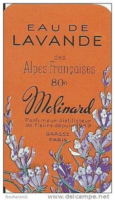 Stamps, coins and banknotes, postcards or any other collectable items are on Delcampe! Lavender Cottage, Lavender Soap, Lavander, Vintage Labels, Vintage Cards, Cosmetic Labels, Orange And Purple, My Favorite Color, Color Schemes