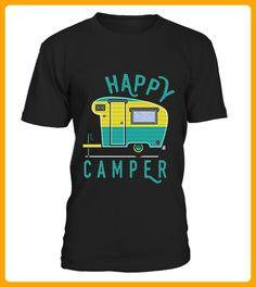 Happy Camper Camping Hiking - Shirts für reisende (*Partner-Link)