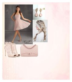"""""""Bridesmaid Look"""" by weberjulia ❤ liked on Polyvore featuring Dolce&Gabbana and Chanel"""