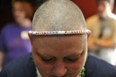 Show Off Your Bald Head! Bald Heads, Event Ideas, Band, Accessories, Fashion, Moda, Sash, Fashion Styles, Fashion Illustrations