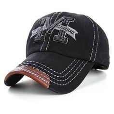 418cb0f072b Hot Sale 2016 Letter Snapback Cap Fashion Hat Denim Fabric Baseball Caps  Bone Hats For Men Women Adjustable Gorras ping
