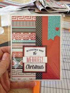 I can't get enough of Snowhaven paper. #ctmh www.barbraotten.com