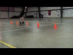 Roller Derby Basics: Lateral Control (step weaving) - YouTube