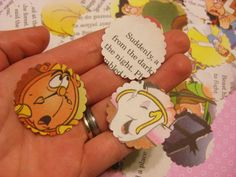 Beauty and the Beast Paper Punches for Scrapbooking by DigitalCake, $2.00