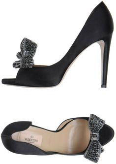 Valentino Courts with Open Toe - Lyst