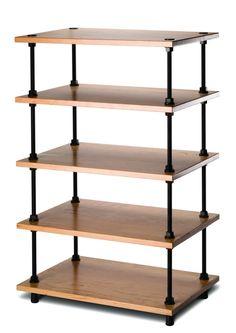 regale aus gewindestangen und holzplatten selber machen heimwerkermagazin bauen pinterest. Black Bedroom Furniture Sets. Home Design Ideas