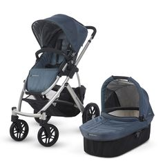 UPPAbaby Vista - an essential stroller system with a pram attachment and huge basket