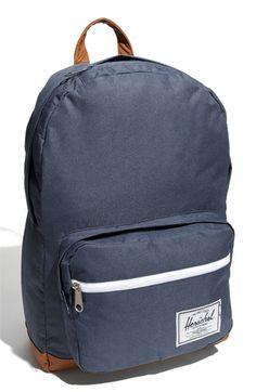 "Herschel Supply Co. 'Pop Quiz' Backpack $70 / Dimensions: 11""W x 17""H x 6""D / Fits most 15"" laptops."